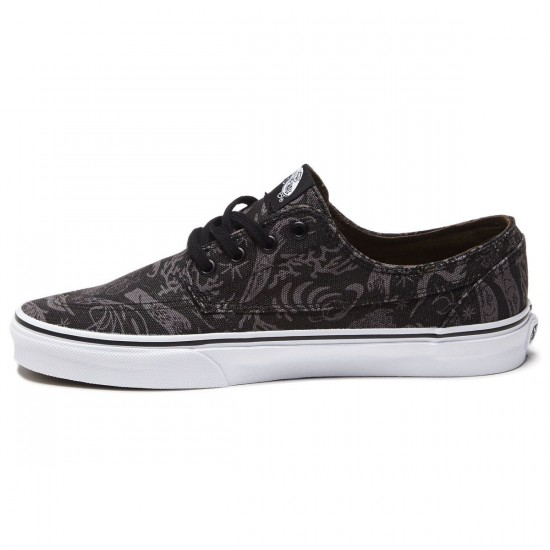 Vans Brigata Shoes - Night Ocean/Pewter/White - 8.0
