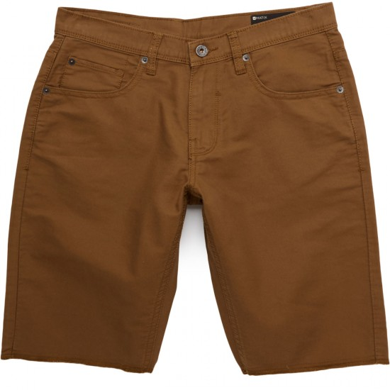 Matix Miner Bedford Cord Shorts - Light Brown