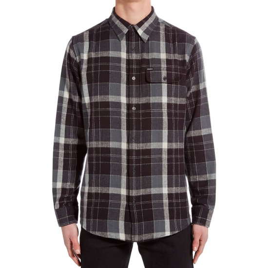 Matix The Hardgrove Flannel Shirt - Charcoal Melange