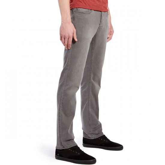 Matix Gripper Slim Straight Jeans - Grey Smoke - 30 - 32