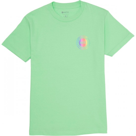 Matix CSC Emblem Faded T-Shirt - Mint