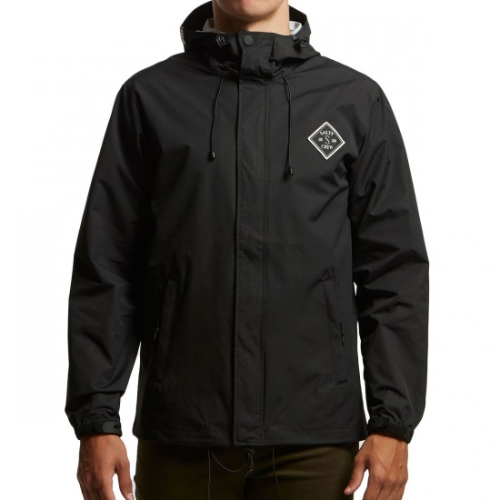 Salty Crew Step Up Snapper Jacket - Black