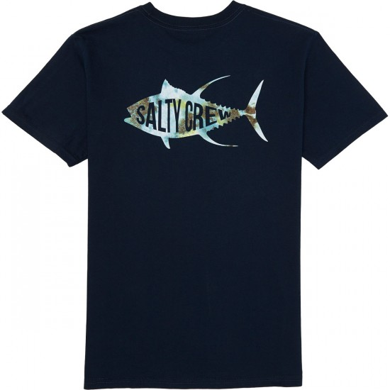Salty Crew Fisher T-Shirt - Navy