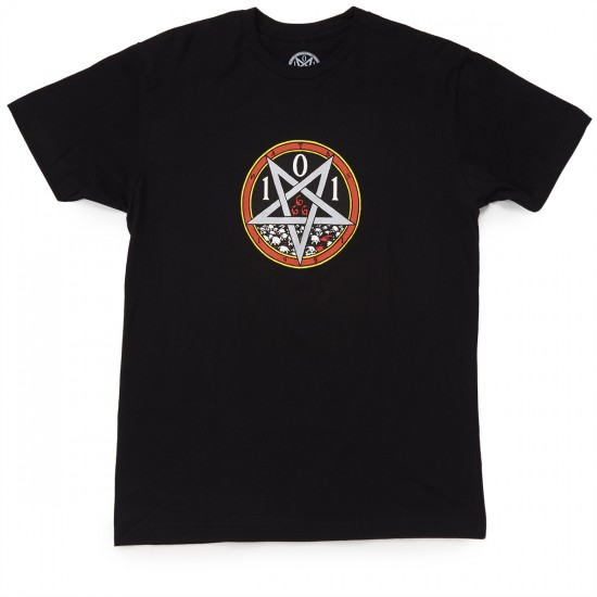 Cliche Devil Worship Premium T-Shirt - Black