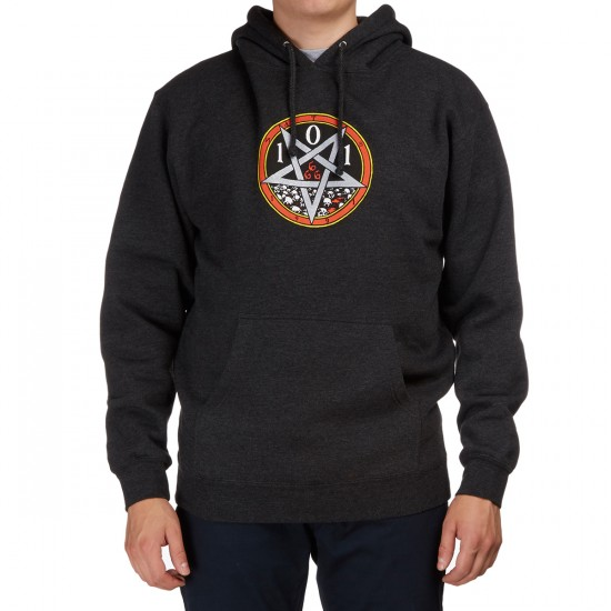 Cliche Devil Worship Hoodie - Charcoal Heather