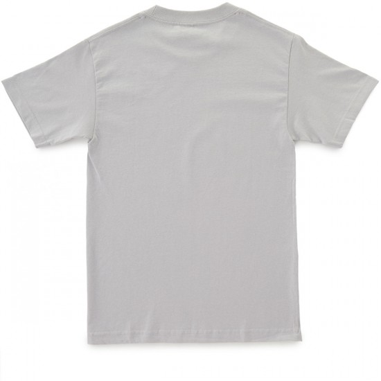 Enjoi Panda Splice T-Shirt - Silver