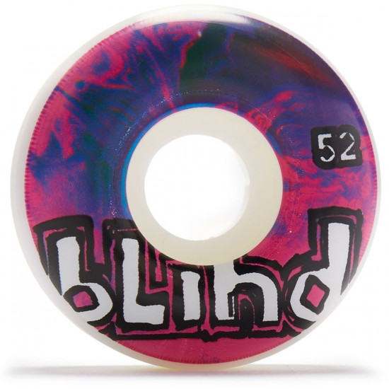 Blind Trippy OG Skateboard Wheels - White/Purple - 52