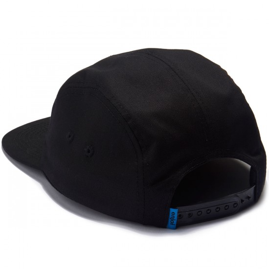 Enjoi Fairfax 5 Panel Hat - Black