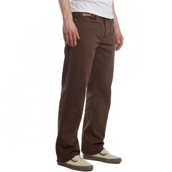 Blind Jeans - Bull Denim Brown - 28 - 32