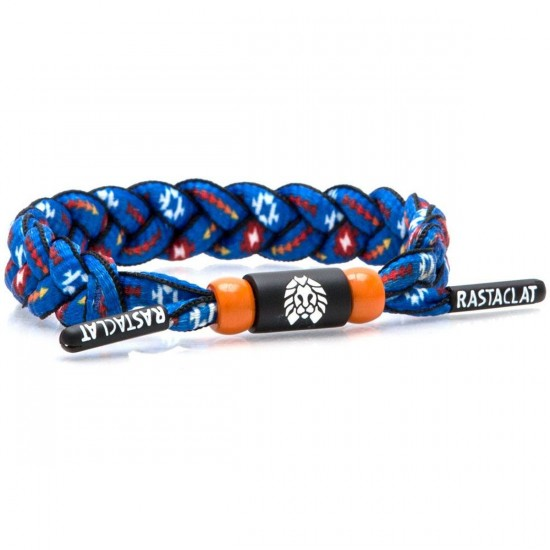 Rastaclat Peace Bracelet - Blue/Red