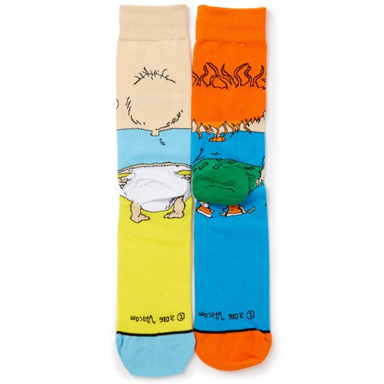 Odd Sox Tommy and Chuckie Socks - Yellow