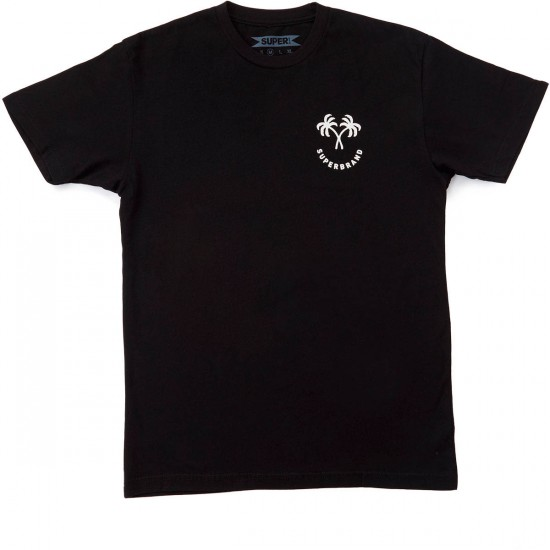 SUPERbrand Happy Palm T-Shirt - Black