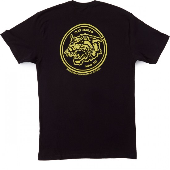 SUPERbrand Mad Cat T-Shirt - Black