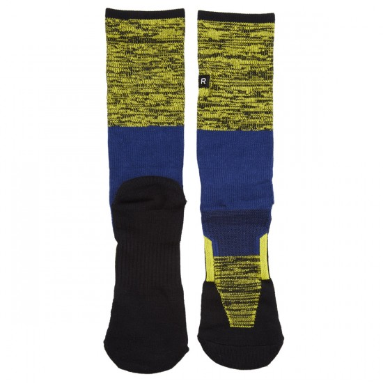 Richer Poorer Statik Socks - Navy