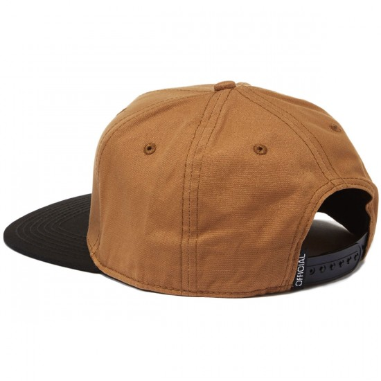 Official Workwear Duo Hat - Brown