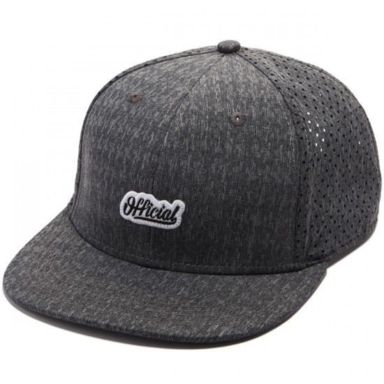 Official Warmups Hat - Grey