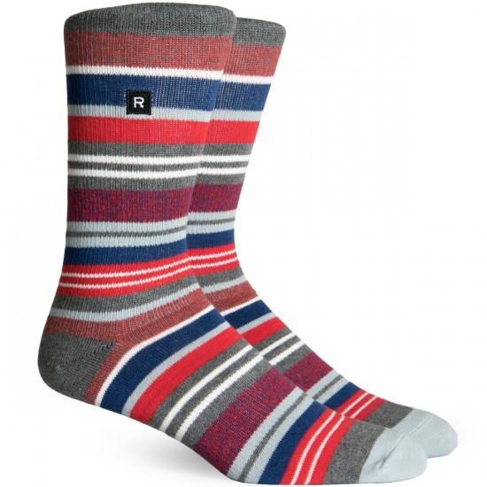 Richer Poorer Warner Athletic Socks - Charcoal