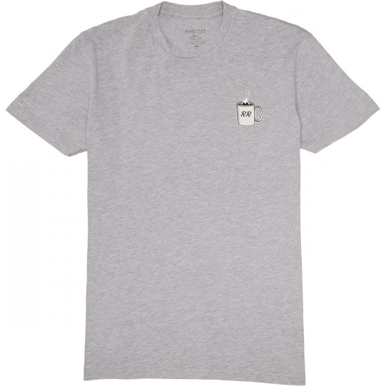 Habitat X Twin Peaks Shelly T-Shirt - Grey Heather