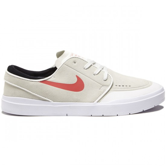 Nike SB Stefan Janoski Hyperfeel XT Shoes - Summit White/Ember Glow/White Black - 7.0