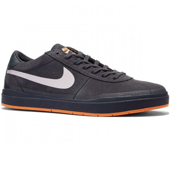 Nike SB Bruin Hyperfeel XT Shoes - Anthracite/White Clay/Orange - 9.0