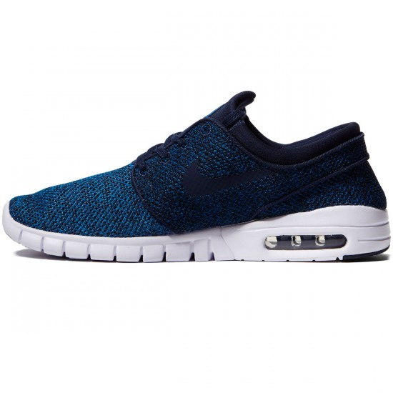 Nike Stefan Janoski Max Shoes - Industrial Blue/Obsidian/Photo Blue - 10.0