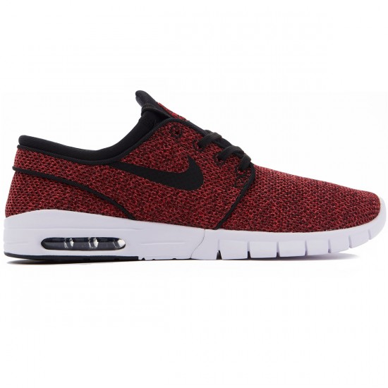 Nike Stefan Janoski Max Shoes - Red/Black Cedar/Mandarin - 8.0