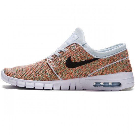 Nike Stefan Janoski Max Shoes - Volt/Black Photo Blue/Racer Pink - 7.0