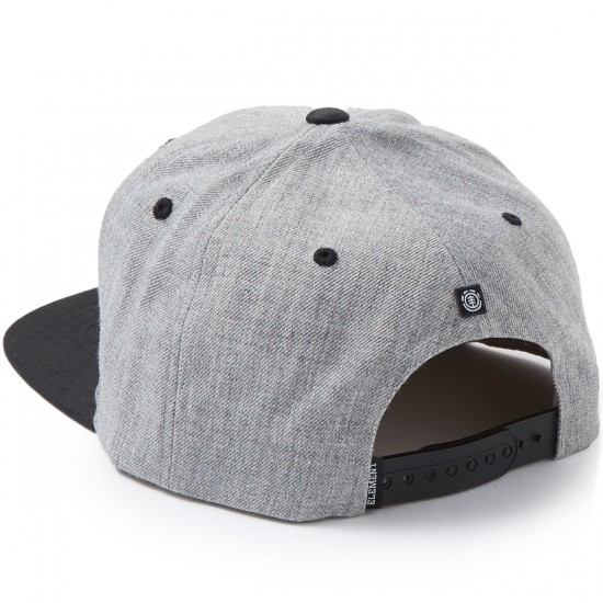 Element Knutsen Hat - Grey Heather/Black