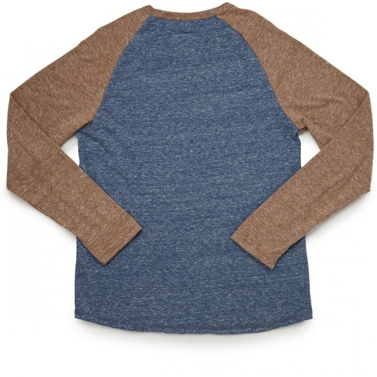 Element Fundamental Long Sleeve Raglan T-Shirt - Rawhide Heather