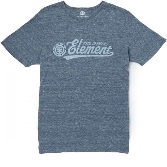Element Signature T-Shirt - Dark Royal