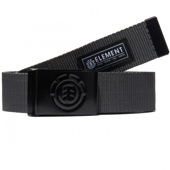 Element Beyond Belt Belt - Charcoal