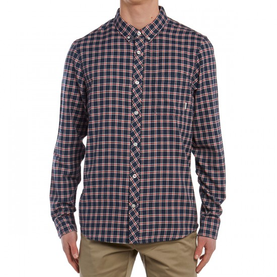 Element Goodwin Long Sleeve Shirt - Midnight Blue
