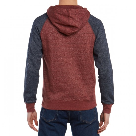 Element Meridian Henley T-Shirt - Oxblood Red