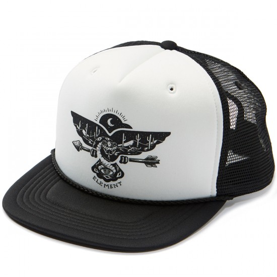 Element Symbol Trucker Hat - Flint Black