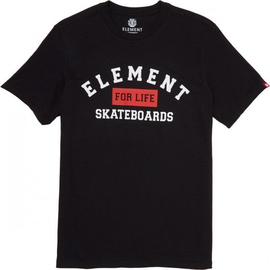 Element For Life T-Shirt - Flint Black