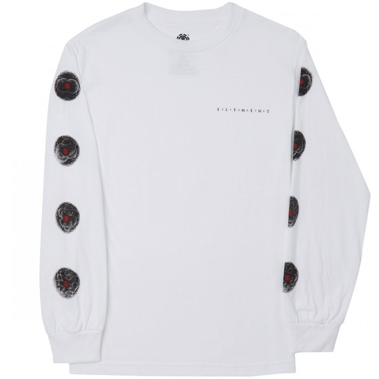 Element Zygote Long Sleeve T-Shirt - Optic White