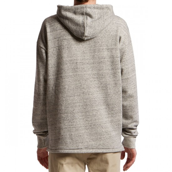 Element Meridian 2.0 Quater Zip Hoodie - Grey Heather