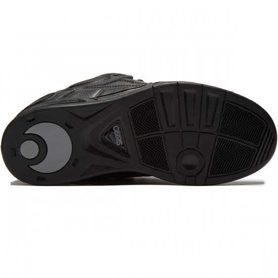 Osiris Peril Shoes - Black/Grey - 8.0