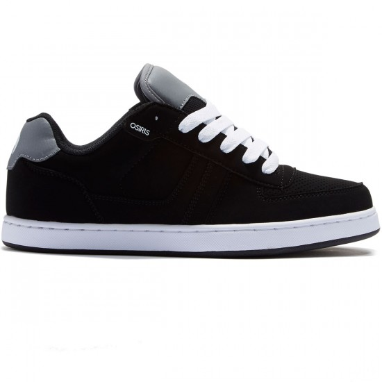 Osiris Relic Shoes - Black/White/White - 8.0