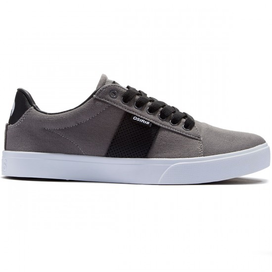 Osiris Rebound Vulc Shoes - Grey/White/Bingaman - 8.0
