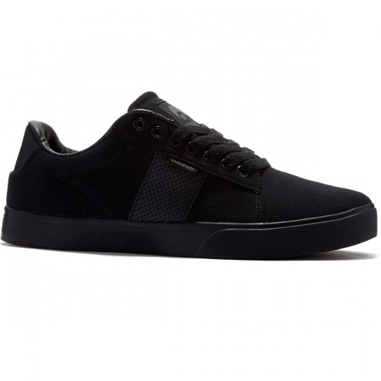 Osiris Rebound Vulc Shoes - Black/Charcoal - 8.0