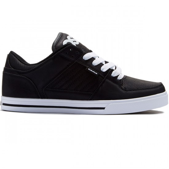 Osiris Protocol Shoes - Black/White/Black - 8.0