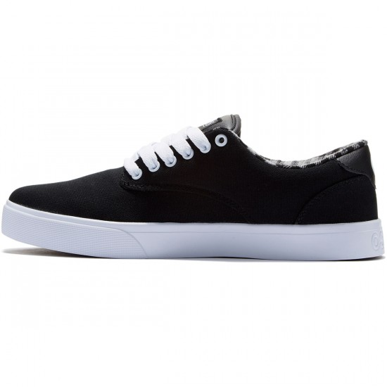 Osiris Slappy Vulc Shoes - Black/White - 8.0