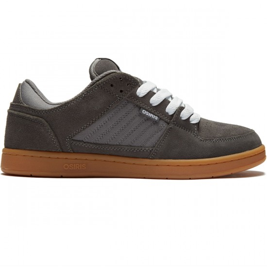 Osiris Protocol Shoes - Grey/Gum - 8.0