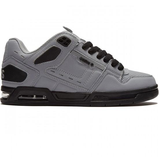 Osiris Peril Shoes - Grey/Black/Black - 8.0