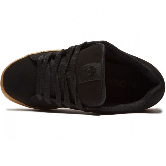 Osiris Loot Shoes - Black/Black/Gum - 8.0