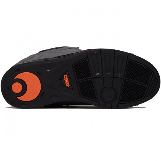 Osiris Peril Shoes - Charcoal/Black/Orange - 8.0