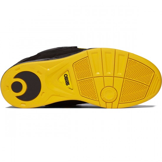 Osiris Peril Shoes - Black/Yellow/Black - 8.0