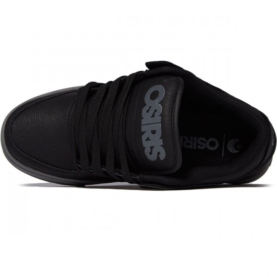 Osiris Protocol Shoes - Black/Grey/Black - 8.0