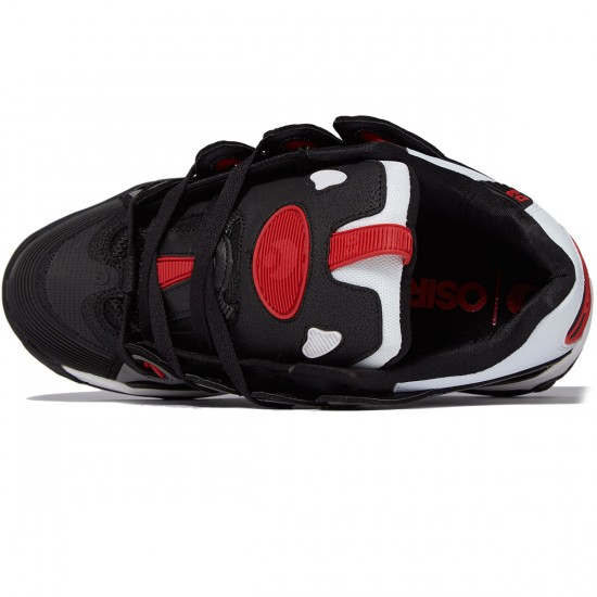 Osiris D3 2001 Shoes - White/Black/Red - 8.0